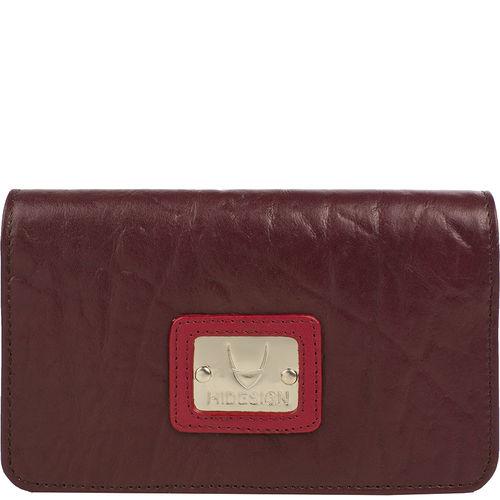 Jensen 01 Women s Wallet, Elephant Ranch,  aubergine, elephant