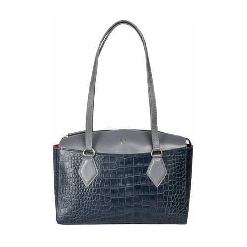 Kasai 03 Sb Women s Handbag, Croco,  midnight blue