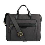 Viking 01 Men s Laptop Bag, Canvas E. I Goat,  black