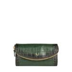 Epocca W1(Rfid) Women s Wallet, Croco Melbourne Ranch,  emerald