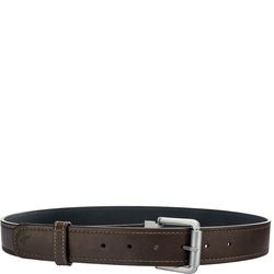 Alanzo Men's Belt, Ranchero Soho, 34-36,  brown