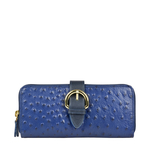 ELIZA W2 (RF) SB WOMENS WALLET OSTRICH EMBOSS,  midnight blue