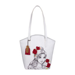 Belle 01 Handbag,  white