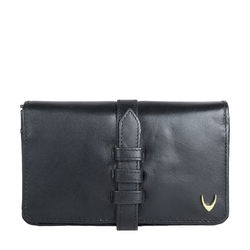 Heather W3(Rf) Women's Wallet,  black