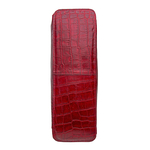 SB ATRIA 03- CROCO MELBOURNE RANCH-RED BROWN,  red