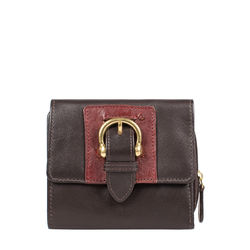 Shanghai W3 Sb (Rfid) Women's Wallet Ostrich,  brown