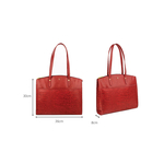 Sb Fabiola 01 Women s Handbag, Croco Melbourne Ranch,  red