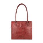 Mercury 02 Sb Women s Handbag, Cow Croco Melbourne Ranch,  red