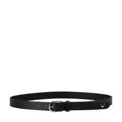Ee Monica Women's Belt Glazed Plain,  black, 36 38