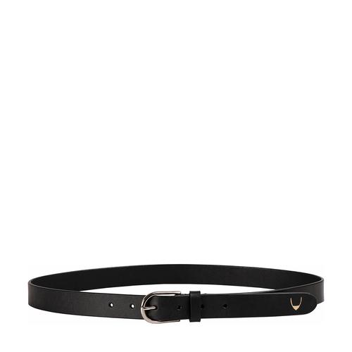 Ee Monica Women s Belt Glazed Plain,  black, 36 38