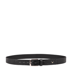 Ee Lewis Men's Belt Glazed, 34,  black