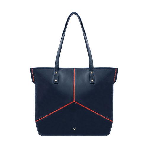 HIDESIGN X KALKI STAR 01 WOMEN S SHOULDER BAG DENVER,  midnight blue