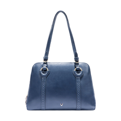 GATSBY 02 WOMEN'S HANDBAG SADDLE,  midnight blue