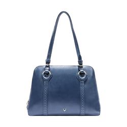 GATSBY 02 WOMEN'S HANDBAG SADDLE,  midnight blue
