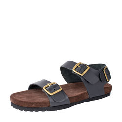 Bill Men's Shoes, Dakota Black Split Suede Brown, 9,  black
