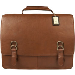 Neil Briefcase, regular,  tan