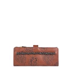 Meryl W3 (Rfid) Women's Wallet, E. I,  tan