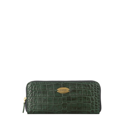 Mackenzie W2 (Rfid) Sb Women's Wallet, Croco,  emerald green