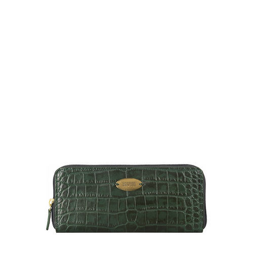 Mackenzie W2 (Rfid) Sb Women s Wallet, Croco,  emerald green