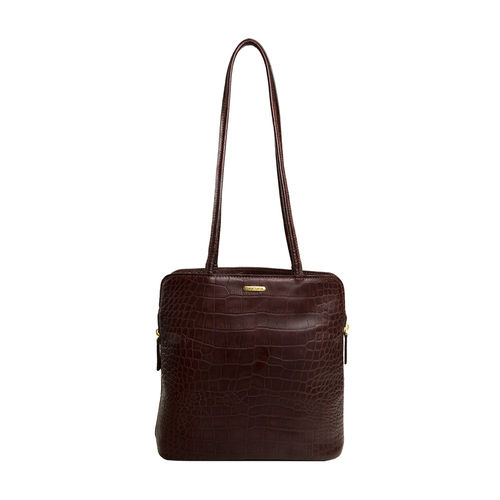Kirsty Women s Handbag, Croco,  brown
