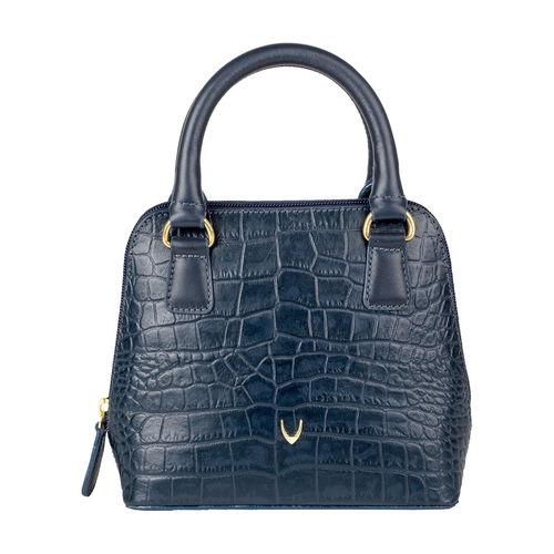 Sophie Women s Wallet, Croco Ranch,  blue