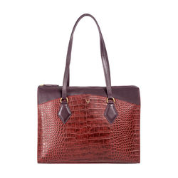 Kasai 01 Sb Women's Handbag, Croco,  red