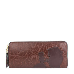 Rose W2 Women's Wallet,  brown