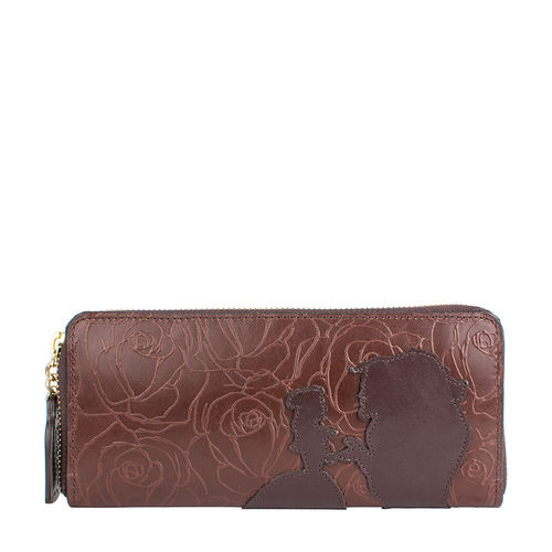 Rose W2 Women s wallet, Rose Emboss Mel Ranch,  brown