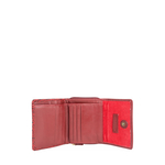 Hanbury W3 (Rfid) Women s Wallet, Lizard Ranch Maori,  red