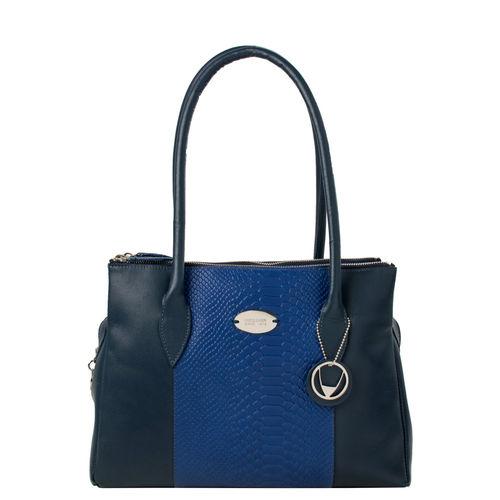 Danny 01 Women s Handbag, Ranch Snake,  midnight blue
