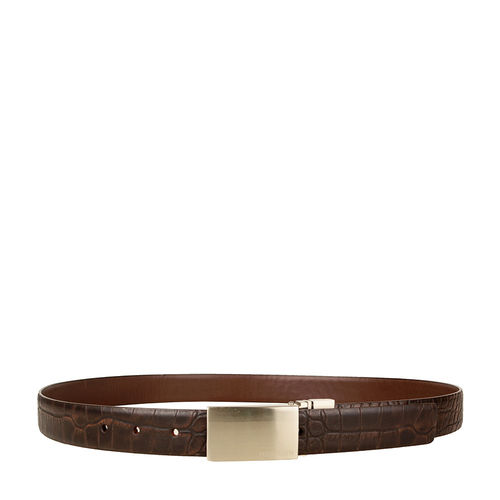Robert 01 Men s belt, 38, ranch ranchero,  black