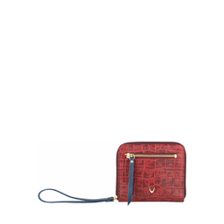 Jupiter W3 Sb (Rfid) Women's Wallet, Croco Melbourne Ranch,  red