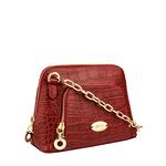 Mb Ginny Women s Handbag, Croco Melbourne Ranch,  red