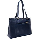 Monica 01 Tote,  midnight blue, ranch