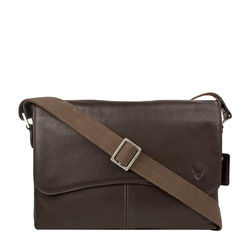 Melrose Place 03 Men's Messanger Bag, Regular,  brown