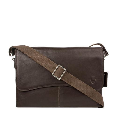 Melrose Place 03 Men s Messanger Bag, Regular,  brown