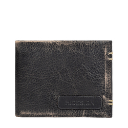 383-017 MENS WALLET AFGHAN,  black