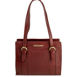 Ersa 03 Women's Handbag, Ranchero,  dark red