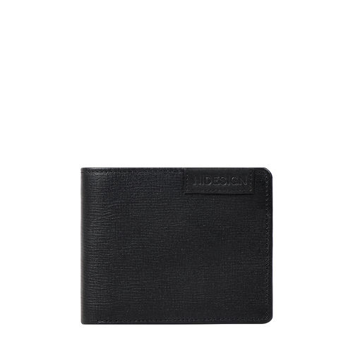 Uranus W4 Sb(Rf) Men s Wallet Manhattan,  black