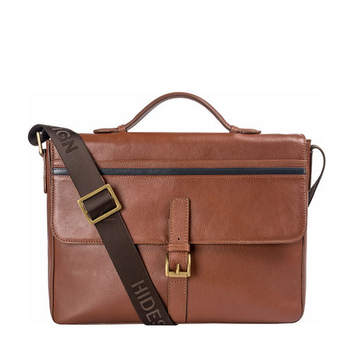 Sigmund 03 Brief Case, Regular,  tan