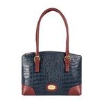 Saturn 01 Sb Women s Handbag Croco,  midnight blue
