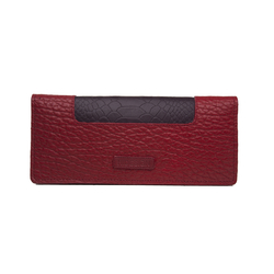 Sb Olivia W1 Women's Wallet, Cement Pebble Snake Lamb,  red