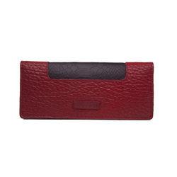 Sb Olivia W1 Women's Wallet, Cement Pebble Snake Lamb,  red