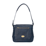 Taurus 02 Women s Handbag, Lizard Melbourne Ranch,  midnight blue