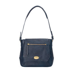 Taurus 02 Women's Handbag, Lizard Melbourne Ranch,  midnight blue