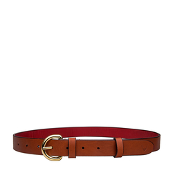 Mariko Womens Belt Embossed Soweto, 32-34,  tan