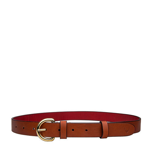 Mariko Womens Belt Embossed Soweto, 36-38,  tan