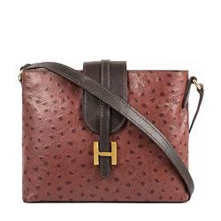 Sb Silvia 03 Women's Handbag Ostrich,  brown