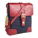 Lumiere 01 Handbag,  navy blue