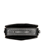 DRAPER 01 BRIEFCASE CROCO,  black